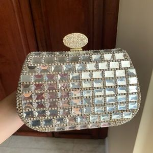 Charming Charlie Bedazzled Clutch